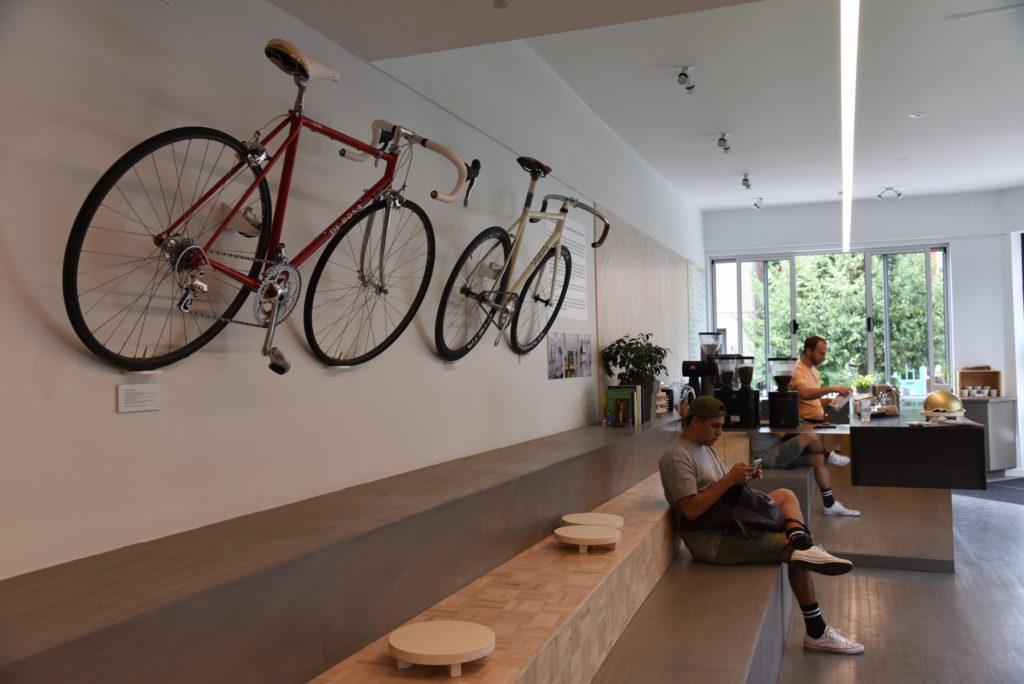 bike slash coffee shop