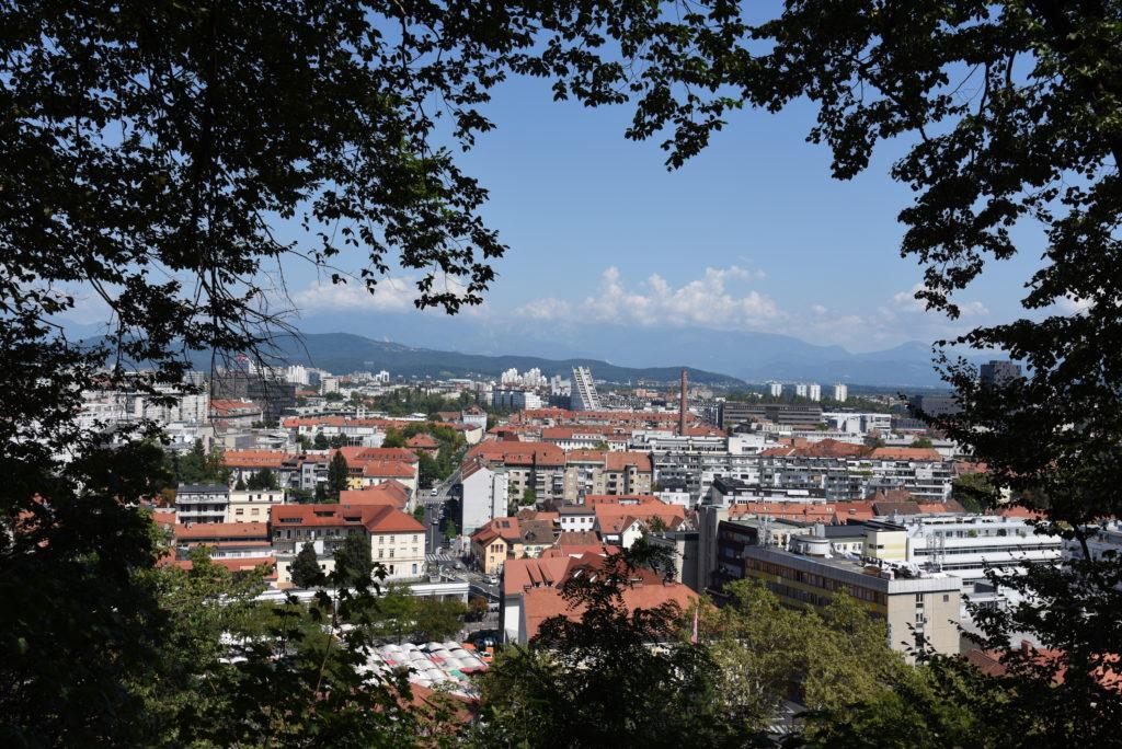 view over Ljubljana