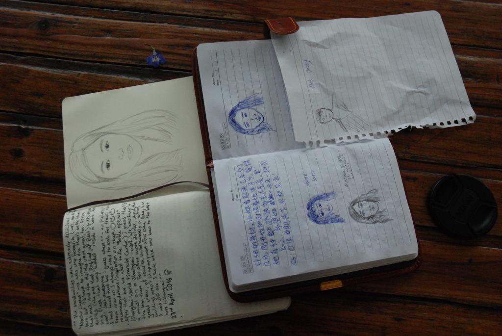 sketchbooks slash diaries