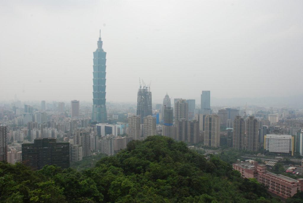 view over Taipei