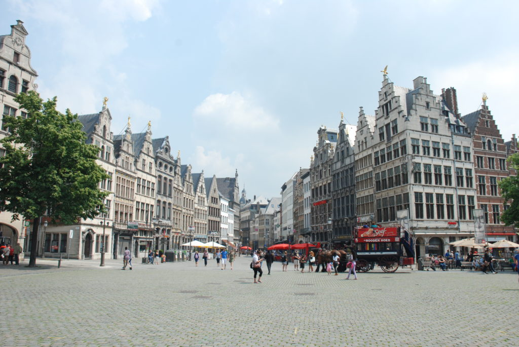 old town of Antwerpen